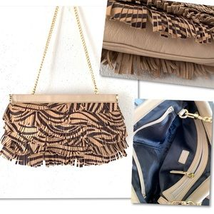 Milly Bags - NEW ❤️ MILLY - Nikki Fringe Facile' Clutch